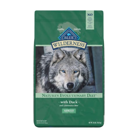 Blue Buffalo Blue Wilderness Adult Duck Recipe Dry Dog Food