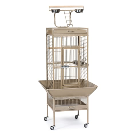 Prevue Pet Products Signature Select Series Wrought Iron Bird Cage in Coco Brown