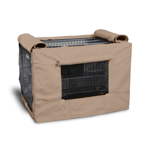 Precision Pet Indoor/Outdoor Tan Crate Covers
