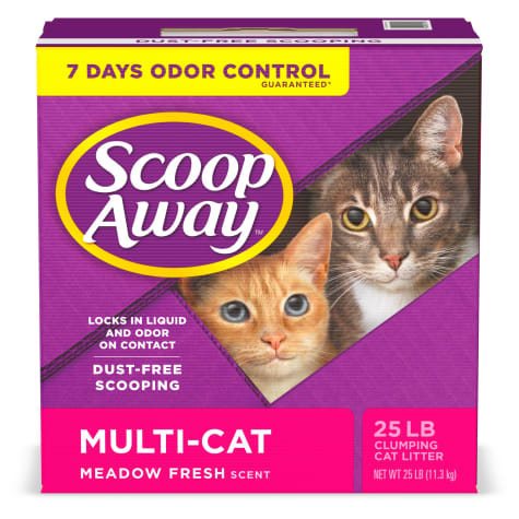 Scoop Away Meadow Fresh Scent Multi-Cat Clumping Cat Litter