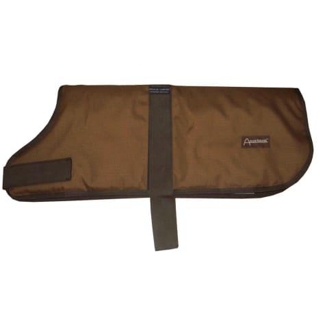 ABO Gear Light Brown Breathable Waterproof Dog Coat