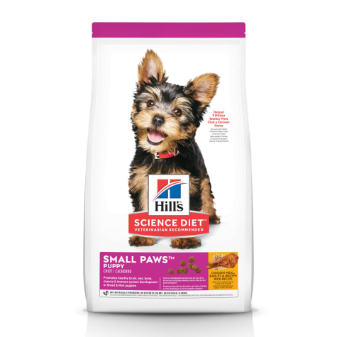 Hill's Science Diet Small Paws Chicken Meal, Barley & Brown Rice Recipe Dry Puppy Food