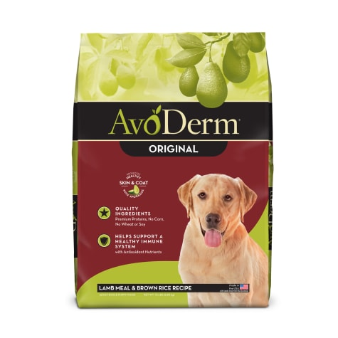 AvoDerm Natural Lamb Meal & Brown Rice Formula Dry Dog Food