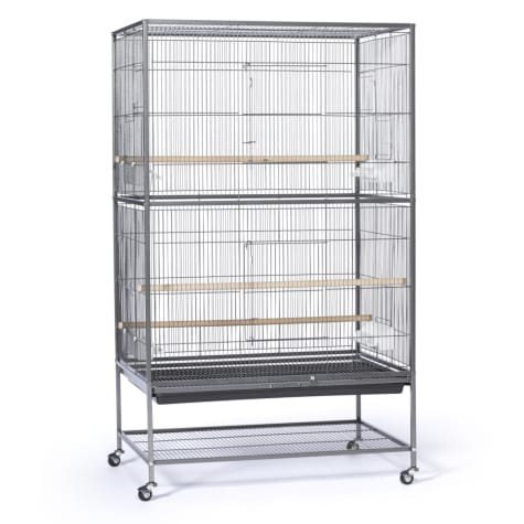 Prevue Pet Products Large Black Flight Bird Cage