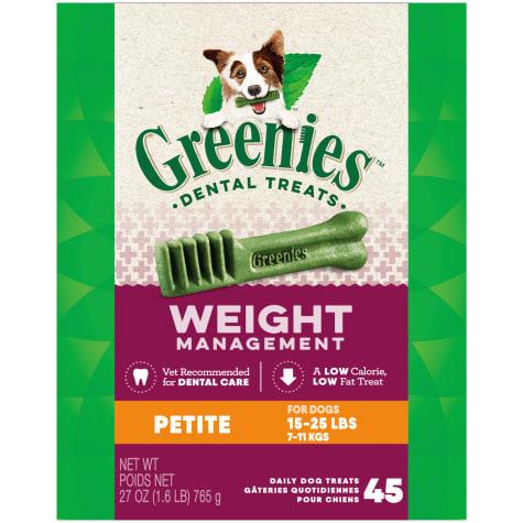 Greenies Weight Management Petite Dental Dog Treats