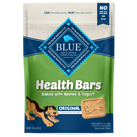Blue Buffalo Blue Health Bars With Apples And Yogurt Dog Treats