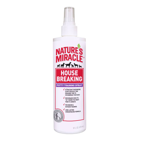 Nature's Miracle House-Breaking Potty Training Spray Quick Results Formula for Dogs