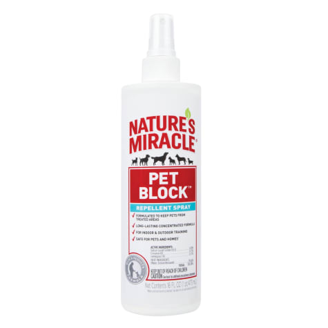Nature's Miracle Pet Block Repellent Spray