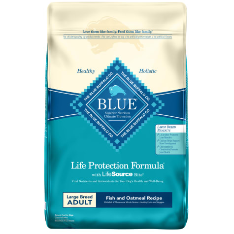 Blue Buffalo Blue Life Protection Formula Large Breed Adult Fish & Oatmeal Recipe Dry Dog Food