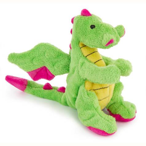 goDog Mini Plush Dragon Dog Toy