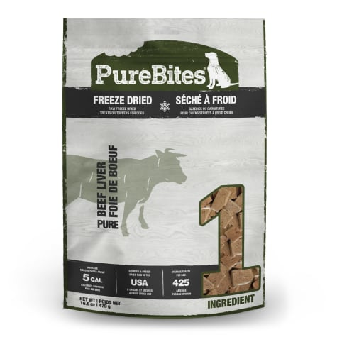 Pure Bites Beef Liver Dog Treats