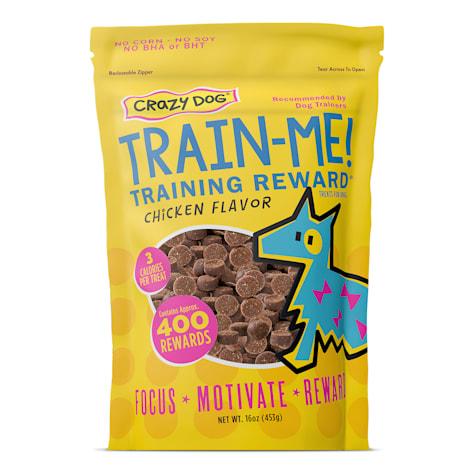 Crazy Dog Train-Me! Chicken Flavored Training Reward Dog Treats