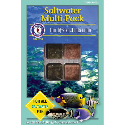 San Francisco Bay Brand Frozen Saltwater Multipacks