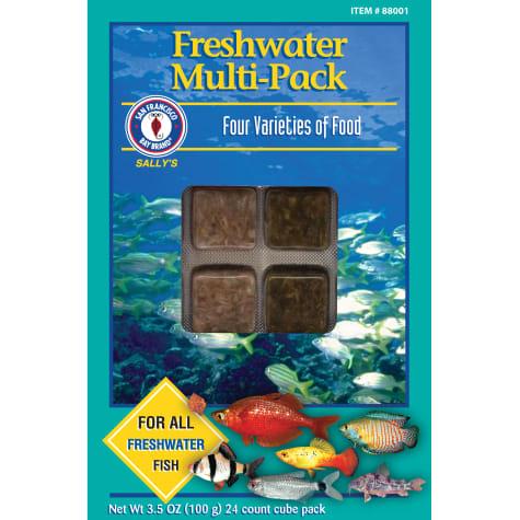 San Francisco Bay Brand Frozen Freshwater Multipacks