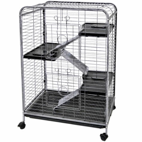 WARE Indoor 4 Level Hutch Small Animal Cage