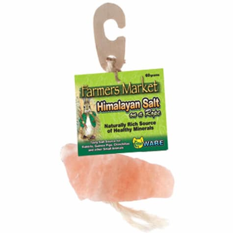WARE Himalayan Salt on a Rope for Small Animals