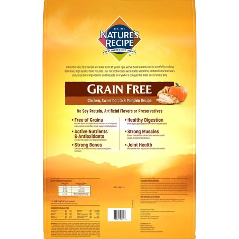 Recipe Grain-Free Chicken, Sweet Potato