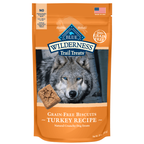 Blue Buffalo Blue Wilderness Trail Treats Turkey Biscuits Dog Treats