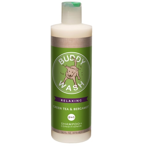 Cloud Star Buddy Wash Green Tea & Bergamot 2 in 1 Dog Shampoo Plus Conditioner