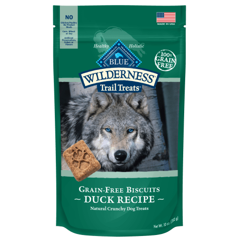 Blue Buffalo Blue Wilderness Trail Treats Duck Biscuits Dog Treats