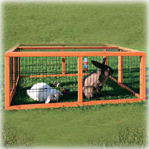 Trixie Natura Rabbit Hutch Enclosure