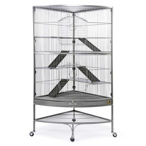 Prevue Pet Products Corner Black Ferret Cage
