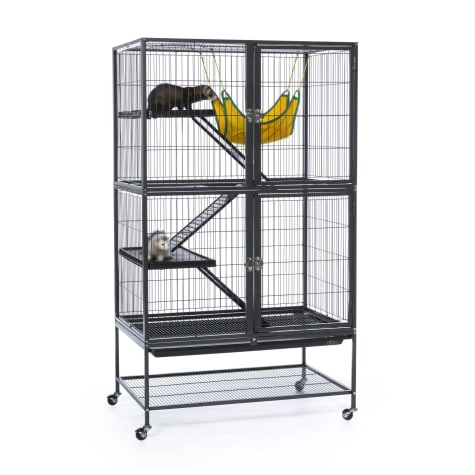 Prevue Pet Products Black Feisty Ferret Cage