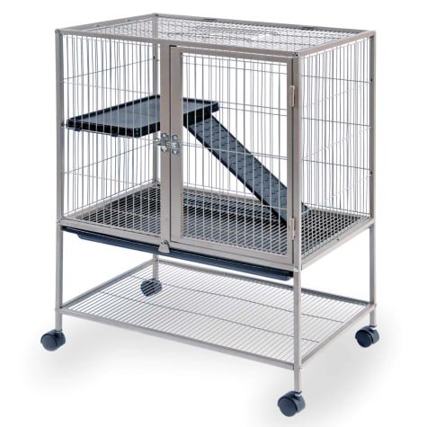 Prevue Pet Products Cocoa Frisky Ferret & Rabbit Cage