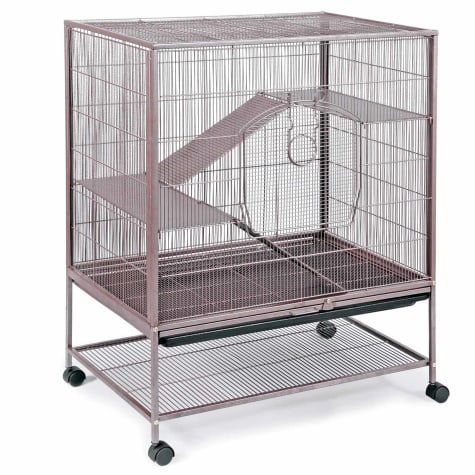 Prevue Pet Products Earthtone Dusted Rose Rat & Chinchilla Cage