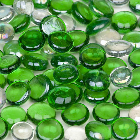 Petco Green Mix Gems Glass Gravel Accents