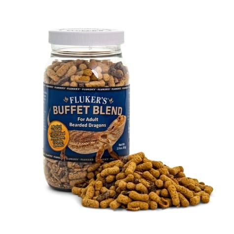 Fluker's Buffet Blend Food for Adult Bearded Dragons