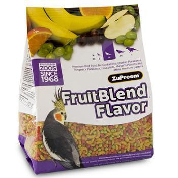 ZuPreem AvianMaintenance FruitBlend Premium Bird Diet for Medium Birds
