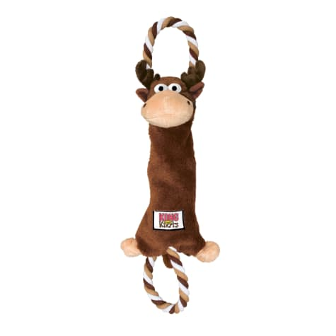 KONG Tugger Knots Moose Dog Tug Toy