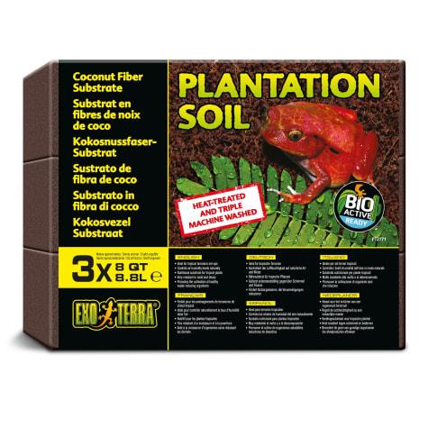 Exo-Terra Plantation Soil Terrarium Substrate Pack