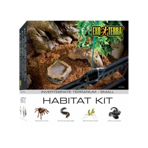 Exo-Terra Invertebrate Glass Terrarium Kit