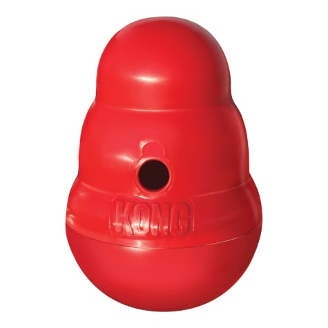KONG Wobbler Food Dispensing Dog Toy