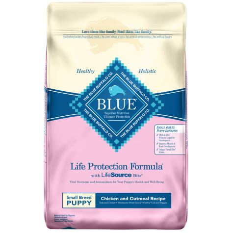 Blue Buffalo Blue Life Protection Formula Small Breed Puppy Chicken & Oatmeal Recipe Dry Dog Food