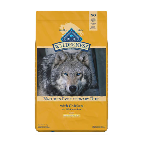Blue Buffalo Blue Wilderness Adult Healthy Weight Chicken Recipe Dry Dog Food