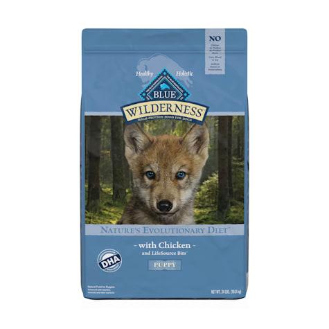 Blue Buffalo Wilderness Natural Puppy High Protein Grain Free Chicken Dry Dog Food