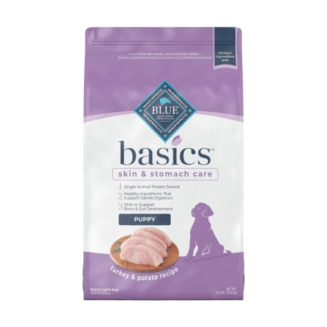 Blue Buffalo Blue Basics Limited Ingredient Formula Turkey & Potato Dry Puppy Food
