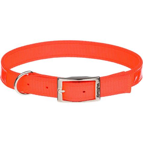 Remington Reflective Orange Double Ply Safety Dog Collar