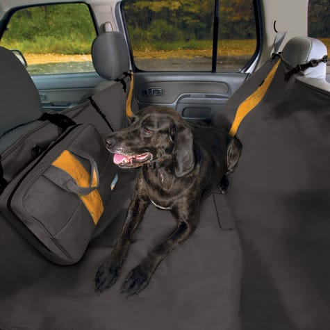 Kurgo Wander Hammock Black Dog Car Seat Cover