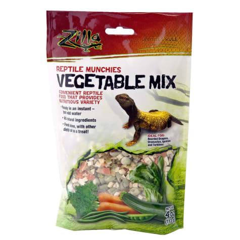Zilla Vegetable Reptile Munchies Reptile Food