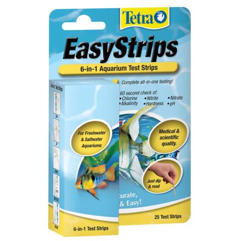 Tetra EasyStrips 6-in-1 Aquarium Test Strips