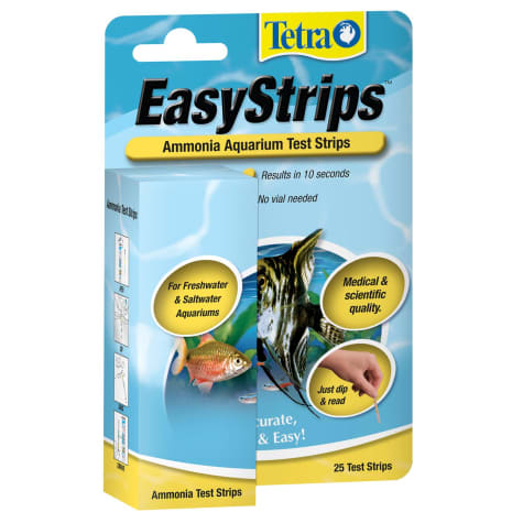 Tetra Easy Strips Water Testing Ammonia For Aquariums