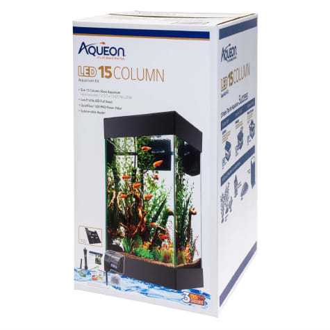Aqueon 15 Column LED Aquarium Starter Kit
