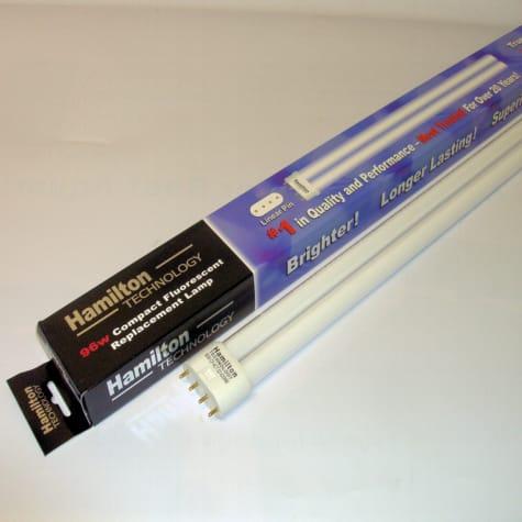 Hamilton Technology Compact Real Actinic 420nm 03 Blue Linear Pin Aquarium Lamp, 96 Watts