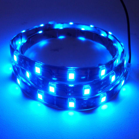 Hamilton Technology Blue LED Aquarium Accent Light Strip, 32