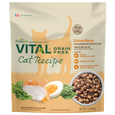 Freshpet Vital Grain-Free Chicken Recipe Complete & Balanced Dry Cat Food