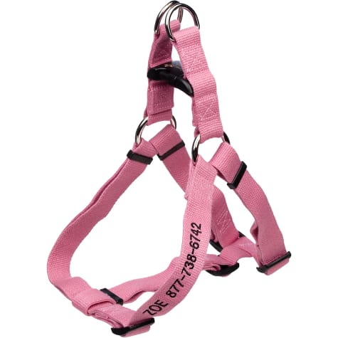 Coastal Pet New Earth Adjustable Personalized Soy Comfort Wrap Dog Harness in Rose